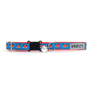Foxy Pet Dog & Cat Collar & Optional Lead Collection
