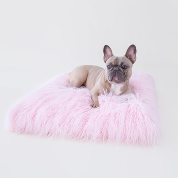 The Himalayan Yak Dog Bed: Ballerina Pink