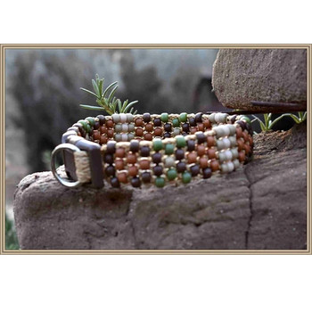 Beaded Jotto Dog Collar