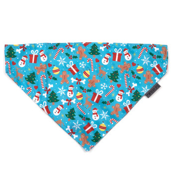 Winter Wonderland Pet Dog Collar Bandana