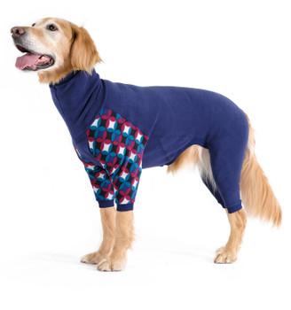 Pet Dog Onesie / Pajama - Navy/Winter Mod