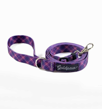 "Standard Dog Side Release 1"" Collar - Mulberry Plaid"