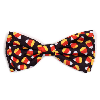 Candy Corn Pet Dog Bow Tie