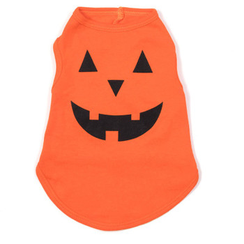 Pumpkin Pet Dog T-Shirt - Small - Big Dog