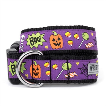 Fright Night Pet Dog Collar & Leash
