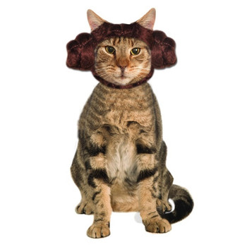 Star Wars Princess Leia Cat Headpiece