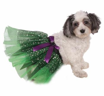 Witch Tutu With Stars Pet Costume