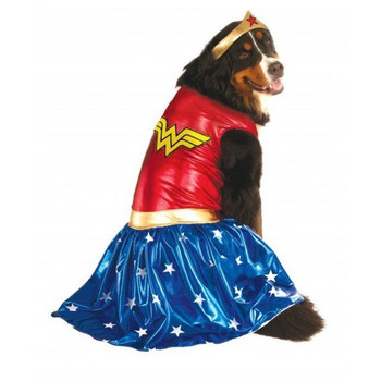 Big Dogs Wonder Woman Pet Costume