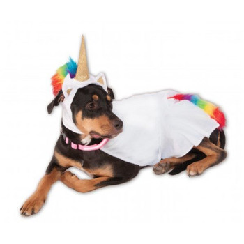 Big Dogs Light-Up Unicorn Cape Pet Costume