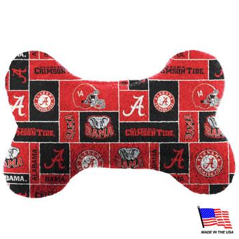 Alabama Crimson Tide Plush Bone Toy