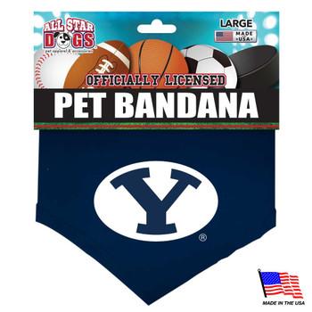 Brigham Young Cougars Pet Bandana