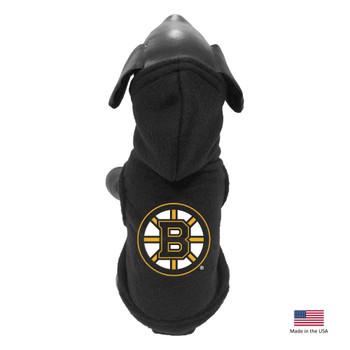 Boston Bruins Polar Fleece Pet Hoodie