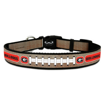 Georgia Bulldogs Reflective Football Pet Collar - Small