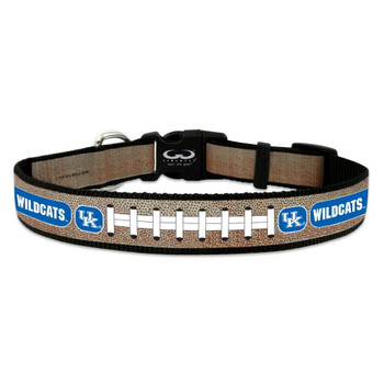 Kentucky Wildcats Reflective Football Pet Collar - Small