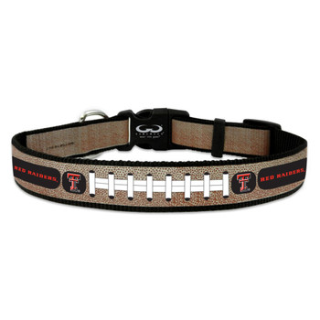 Texas Tech Red Raiders Reflective Football Pet Collar