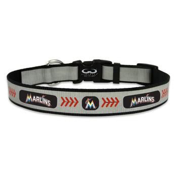 Miami Marlins Pet Reflective Collar