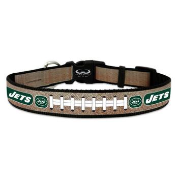 New York Jets Reflective Football Pet Collar - Small