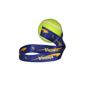 Minnesota Vikings Tennis Ball Toss Toy