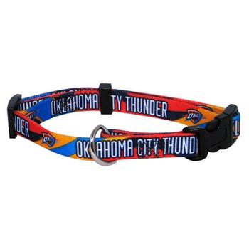 Oklahoma City Thunder Dog Collar