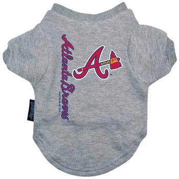 Atlanta Braves Dog Tee Shirt