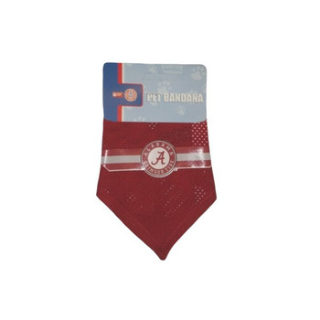 Alabama Crimson Tide Mesh Dog Bandana