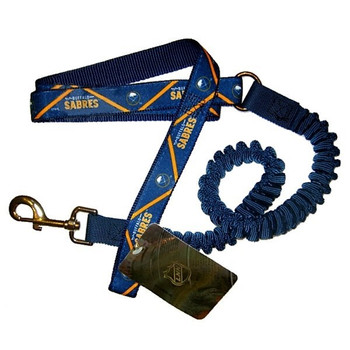 Buffalo Sabres Bungee Ribbon Pet Leash