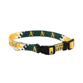 Oakland A's Pet Collar