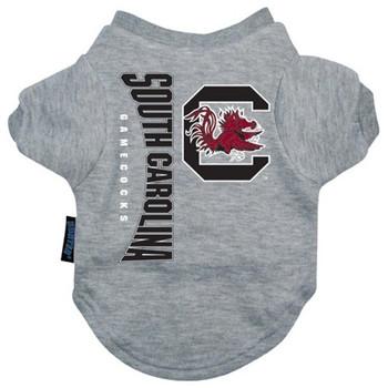South Carolina Gamecocks Pet Tee Shirt - h7732-0001