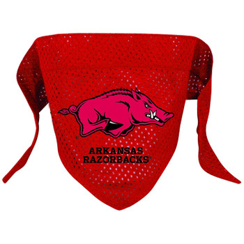 Arkansas Razorbacks Pet Mesh Bandana