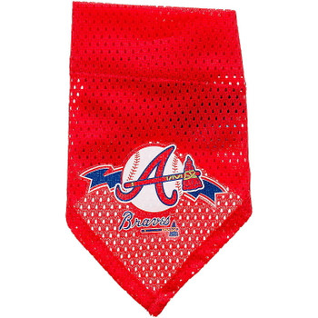 Atlanta Braves Mesh Pet Bandana - Large