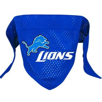 Detroit Lions Pet Mesh Bandana