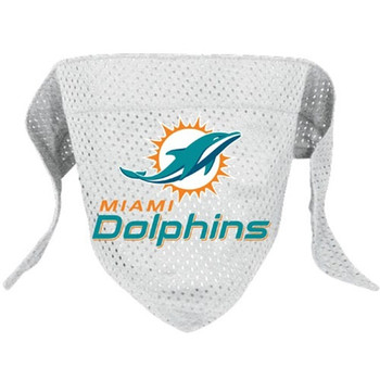 Miami Dolphins Pet Mesh Bandana