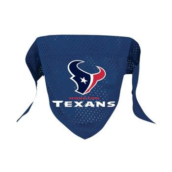 Houston Texans Mesh Dog Bandana