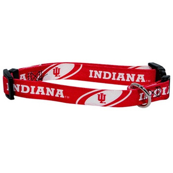 Indiana Hoosiers Pet Collar