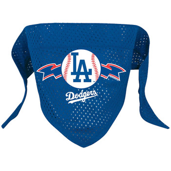 Los Angeles Dodgers Mesh Pet Bandana - Large