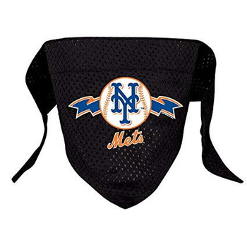 New York Mets Mesh Pet Bandana - Small