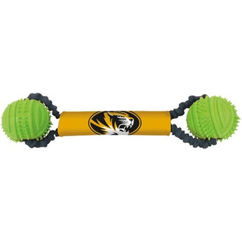 Missouri Tigers Double Bungee Tug-N-Toss Toy
