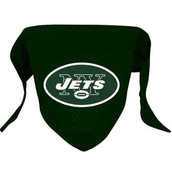 New York Jets Pet Mesh Bandana