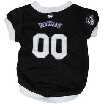 Colorado Rockies Dog Jersey - HROC4254-0001