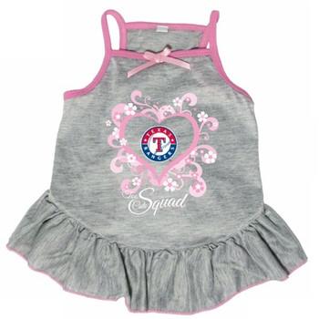 "Texas Rangers ""Too Cute Squad"" Pet Dress"