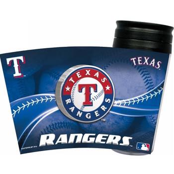 Texas Rangers Acrylic Tumbler w/ Lid