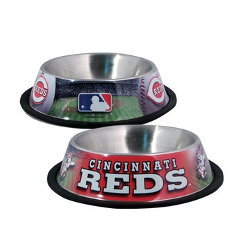 Cincinnati Reds Dog Bowl - hun957