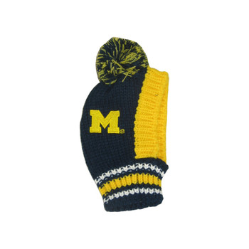 Michigan Wolverines Pet Knit Hat