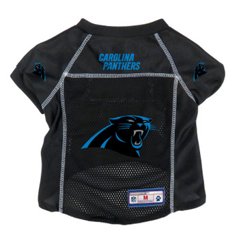 Carolina Panthers Pet Mesh Jersey - Small