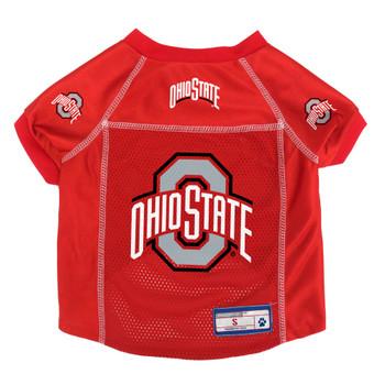 Ohio State Buckeyes Pet Mesh Jersey