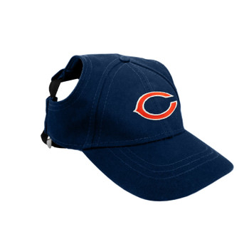Chicago Bears Pet Baseball Hat - Small