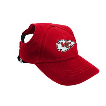 Kansas City Chiefs Pet Baseball Hat - Small