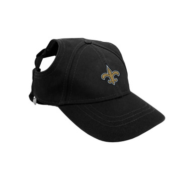 New Orleans Saints Pet Baseball Hat - XS