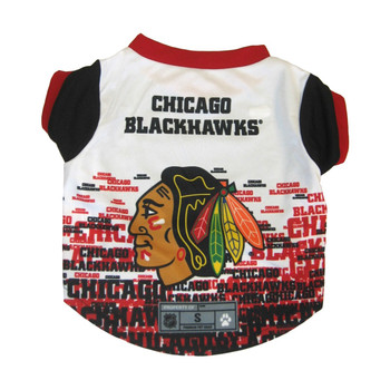 Chicago Blackhawks Pet Performance Tee