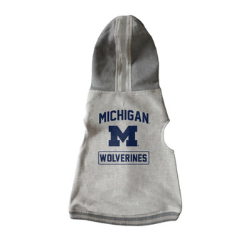 Michigan Wolverines Pet Crewneck Hoodie - XS